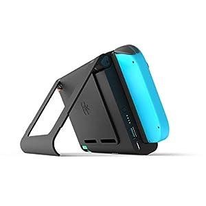 S-Charge Nintendo Switch-Batteriefach und Kick-Stand-Bundle Edition – Mit 2 Spielsteckplätzen, USB-Ladeschlitz…
