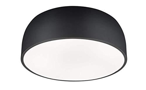 A+Ceiling light Plafón Lámpara Baron 609800432 Luz de Techo, Metal, Negro Mate [Clase de eficiencia energética A ++]