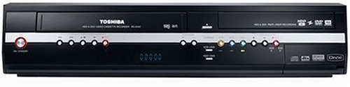 Toshiba RD XV 47 K TE DVD-Festplatten-Rekorder / Video-Rekorder Kombination 160 GB (DivX-Zertifiziert) schwarz