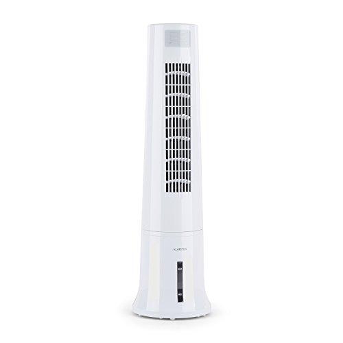 Klarstein Highrise, raffrescatore evaporativo a torre da 35 watt con serbatoio da 2,5 litri