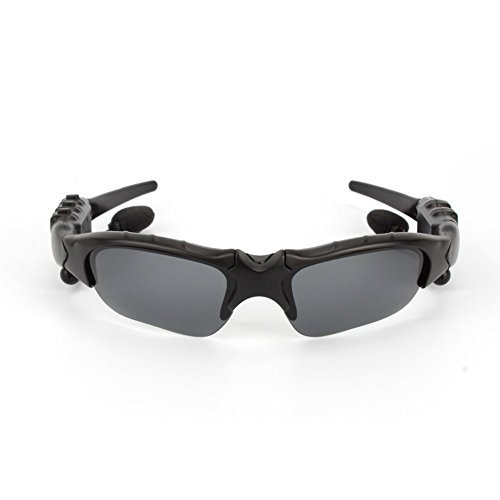 Bluetooth-Sonnenbrillen, Built-in v4.1 Bluetooth-Kopfhörer Sports Stereo Sonnenbrille mit Freisprecheinrichtung Antwort Telefon Musik MP3-Player für Android IOS Smartphones und Alle Geräte mit Bluetooth