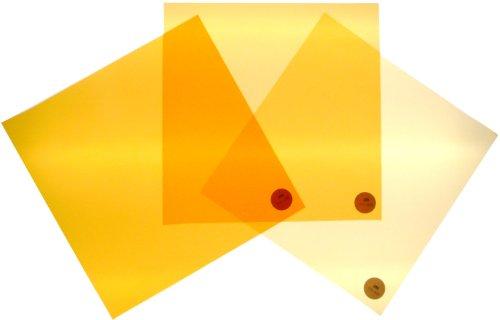 Filterset Farbkorrektur von Tageslicht nach Glühlicht CTO 24x24cm -
