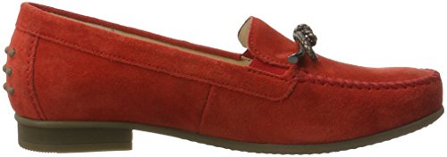Gabor Shoes Comfort, Mocassini Donna Rosso (strawberry 48)