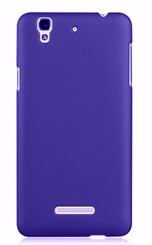 WOW Imagine(TM) Rubberised Matte Hard Case Back Cover For Micromax YU Yureka / Yureka Plus (Purple)