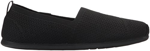 SkechersPlush Lite Custom Built - Sandali con Zeppa donna Nero