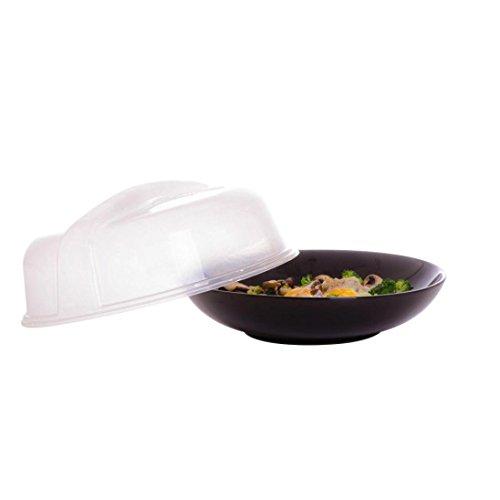 Malloom® Neue belüftete Mikrowellen-Nahrungsmittelabdeckung Splatter-Schutz Belüftete Mikrowelle
