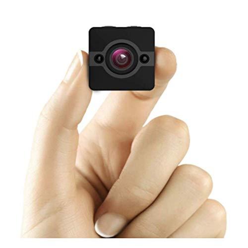 Mini Spion Kamera Versteckte Kamera,Wasserdichte 1080P Full HD Kameras Mit 155°Weitwinkelobjektiv,Kindermädchen/Haushälter Cam Nachtsicht & Bewegungserkennung,Sport Action Cam Mit Montagezubehör Kit