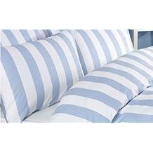 suchergebnis auf f r bettw sche blau wei gestreift. Black Bedroom Furniture Sets. Home Design Ideas