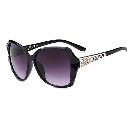 WERERT Sportbrille Sonnenbrillen Large Frame Sunglasses Women Vintage Gradient Shopping Glasses Uv400 Travel Feminino