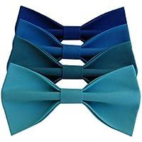 Papillon uomo blu, linea cerimonia 2019, regalo testimoni, sposo, accessori matrimonio.