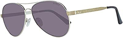 Guess GU7501 32F 62 Monturas de gafas, Dorado (OroMarrone Grad), 62.0 Unisex Adulto