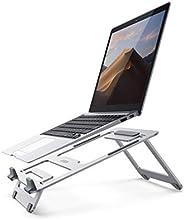 يوجرين حامل كمبيوتر محمول قابل للتعديل وقابل للطي متعدد الزوايا خفيف للغاية متوافق مع كمبيوتر محمول 10-16 انش