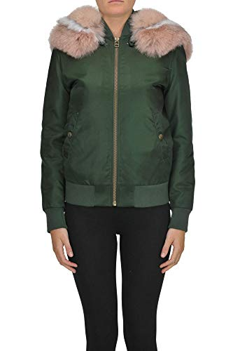 Alessandra Chamonix Fur Interior Bomber Jacket Woman 15