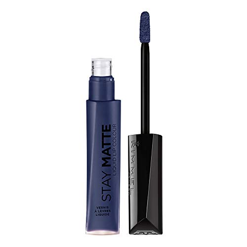 RIMMEL LONDON Stay Matte Liquid Lip Color - Blue Iris -