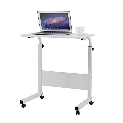 Modenny Einstellbare Höhe über Bett Tisch Laptop Cart White Computer Schreibtisch Büro Notebook Computer Schreibtische -