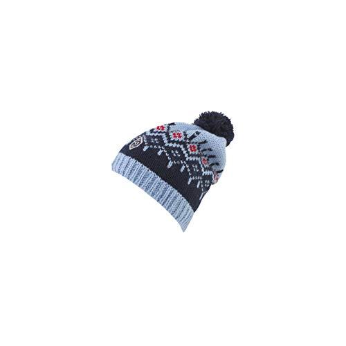 Kari Traa Damen Seim Beanie Mütze Fausthandschuhe aus Wollmix (Naval)