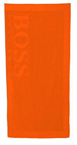 Hugo Boss Beach Towel 170 x 80 cm Badetuch Strandtuch Medium Orange (816)
