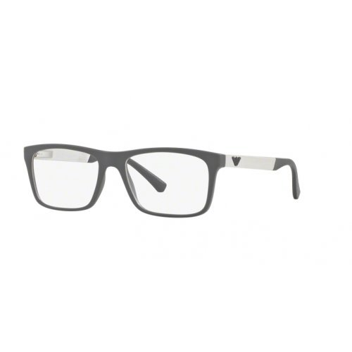 Emporio Armani EA3101 5559, Matte Grey, Men, 55-17mm, Eyewear Frames