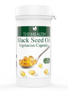 Black Seed Oil Vegetarian Capsules 60 x 500mg Egyptian Cold Pressed Oil