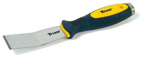 Titan Tools 115081-1/4-Zoll Offset Edelstahl-Schaber-Mehrfarbig