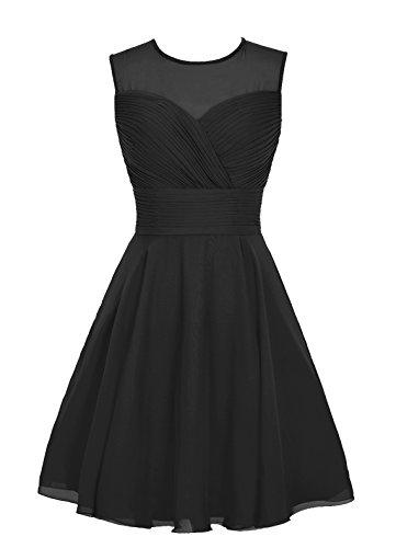 Find Dress Paillette Robe de Mariée Printemps été Princesse Femme Fille Robe de Cocktail Soirée pour Anniversaire Robe Demoiselle d'Honneur Mariage Femme Fille Enfant en Mousseline Noir
