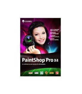 PaintShop Pro X4 License Media Pack/ Windows / Multilanguage / CD