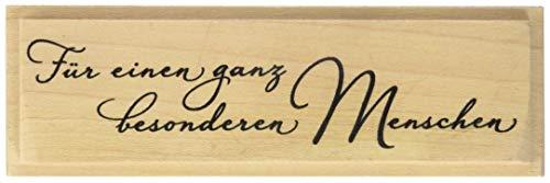 Knorr Prandell 211800313 Knorr prandell 211800313 Stempel aus Holz (Allgemein) Motivgröße 10 x 2,4 cm , Motiv: Für einen ganz besonderen Menschen