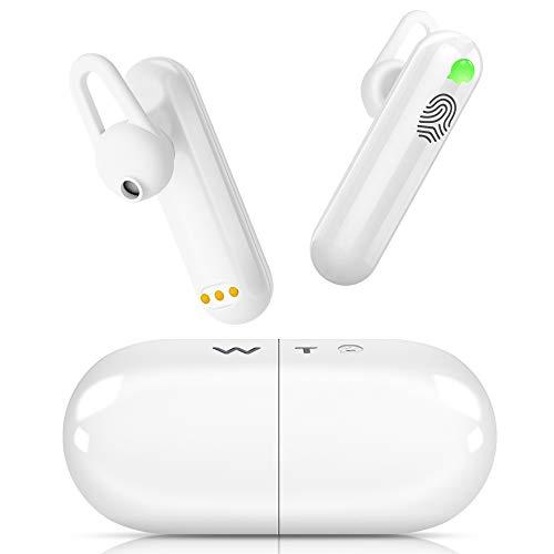 Übersetzer Sprachübersetzer - Translator Smart Dolmetscher Timekettle WT2 40 Sprachen 88 Dialekte Echtzeit In-Ear Ohrhörer Simultan Bluetooth, APP Reisen Business Lade-Case 1 Paar für iOS Android