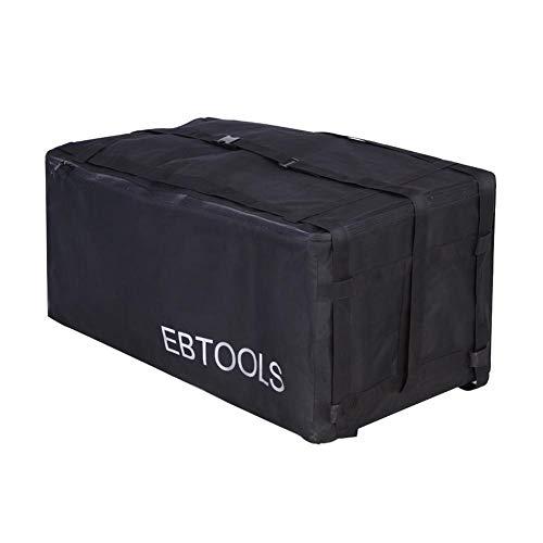 Keenso Wasserdichte Gepäckbox Anhängerkupplung Dach Auto Gepäcktasche auf dem Auto Anhängerkupplung Gepäcktasche für Fahrzeug PKW LKW SUV Vans Dach oben hinten