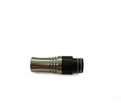 ecig-tools Drip Tip mit Spritzschutz für 510 & 901 plus Ersatz O-Ringe - Drip Tip