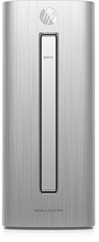 HP ENVY (750-450ng) Desktop PC (Intel Core i7-6700, 16 GB RAM, 1 TB HDD, 128 GB SSD, NVIDIA GeForce GTX 1060, SuperMulti-DVD-Brenner mit Ultra-Slim-tray, Windows 10 Home 64) silber (Hp Studio-desktop-computer)