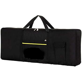 WasserDichte Tastatur Tasche HandTasche Für 61Tasten Tastatur Verdickt Schwarz