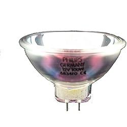 Philips 40973760 100W Gz6.35 Blanc Ampoule Halogène - Ampoules Halogènes (100 W, Gz6.35, Blanc, Réflecteur, R50, 3330 K)