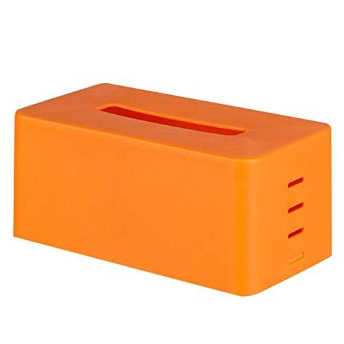 HGFCTNY Plastiktaschentuch-Servietten-Kasten-Toilettenpapier-Zufuhr-Kasten-Haus (Gewichtete Papier-handtuch-halter)