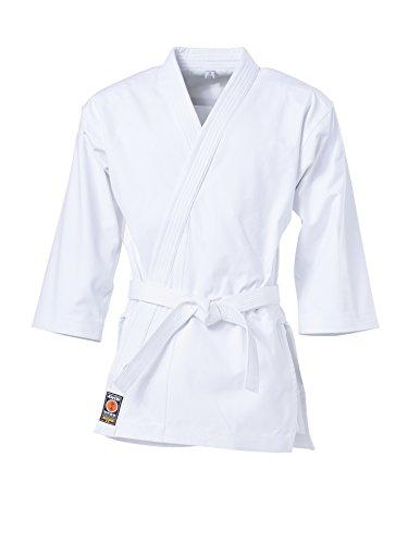 """KWON Karate Jacke """"Kumite"""", 12Oz weiß Größe 190 cm"""