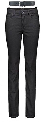 MAC Melanie Damen Jeans Hose 0380l504087 & draussenaktiv.com Ledergürtel, Farbe:D999;Größe:W38/L32