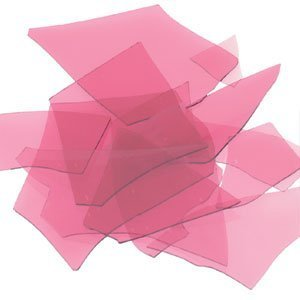 Bullseye Confetti (Bullseye COE 90 Confetti Cranberry Pink Fusible Glass Full Jar 4 Oz Bu131184 by Bullseye)