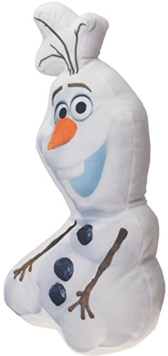 Daum - Pimp Up Your Life Kinder Disney Frozen Olaf Formkissen, Weiß, 40 x 20 x 6 cm