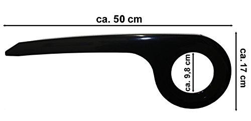 Fahrrad Kettenschutz Kettenkasten ABS Kettenschützer Schwarz 38 Zähne