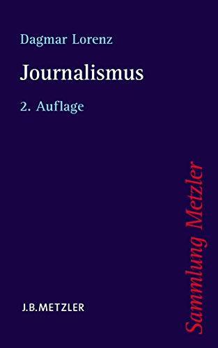 Journalismus (Sammlung Metzler) (German Edition)