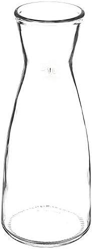 Amazon Brand - Solimo Glass Decanter,1 L