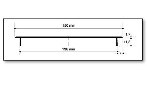 Âme Grille de Ventilation en Aluminium - Doré anodisé