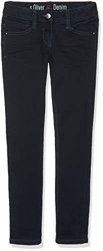 s.Oliver Junior Mädchen 66.810.71.3252 Jeans, Blau (Blue Denim Stretch 58z8), 158 (Herstellergröße: 158/REG) -