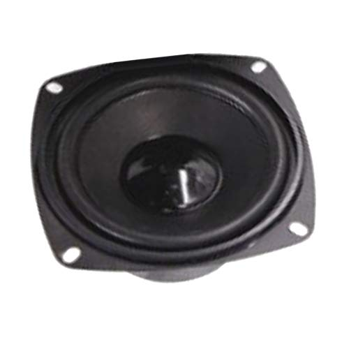 non-brand Homyl 4 Zoll DIY Lautsprecher Bass Horn Lautsprecher Stereo Subwoofer Home Party, 4 Ohm
