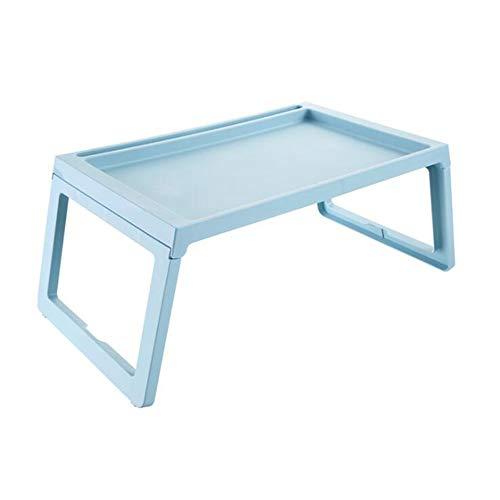 Home Frühstück (Shamdon Home Collection Laptop-Tablett mit klappbaren Beinen, Knietisch für Sofa, Couch, Boden, Bett, Frühstück, Schreiben, 55 x 36 cm himmelblau)