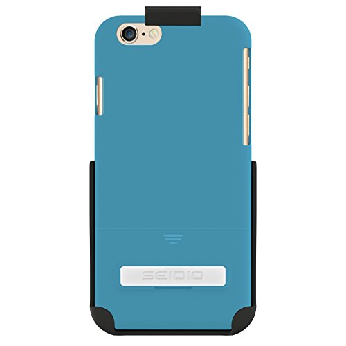 Seidio Surface Schutzhülle mit metallischenKickstand Combo für Apple iPhone 6 blau - Seidio Holster-design