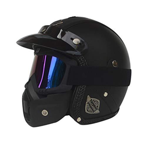 Casco de Moto Halley Retro Prince 3/4