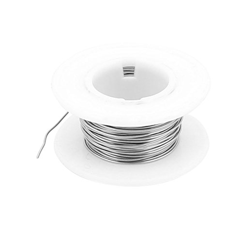 sourcingmap® 5M 16,4 ft, 0,6 mm, 22 AWG Kabel Konstantan Heizdraht für Heizelemente