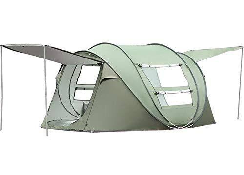 HSX-Better Gran Tienda de campaña para Acampar en la Playa Refugio para el Sol Tiendas de campaña portátiles al Aire Libre Cabana 3-4 Personas Anti UV Shade para Adultos en Familia Camping para bebés
