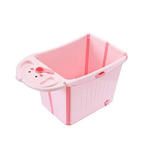 HUACANG Plegable Bañera Aislamiento Eficiente, Lavabo De La Ducha del Bebé Fácil...